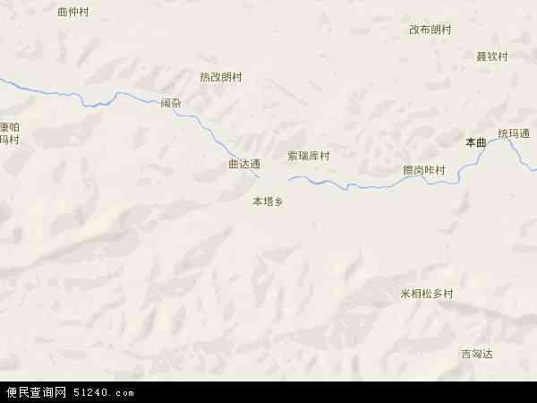本塔乡地图 - 本塔乡电子地图 - 本塔乡高清地图 - 2016年本塔乡地图
