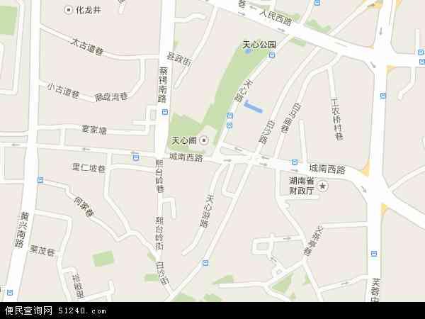 城南路地图 - 城南路卫星地图