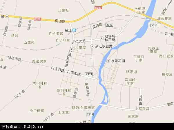 邓埠镇地图 - 邓埠镇卫星地图