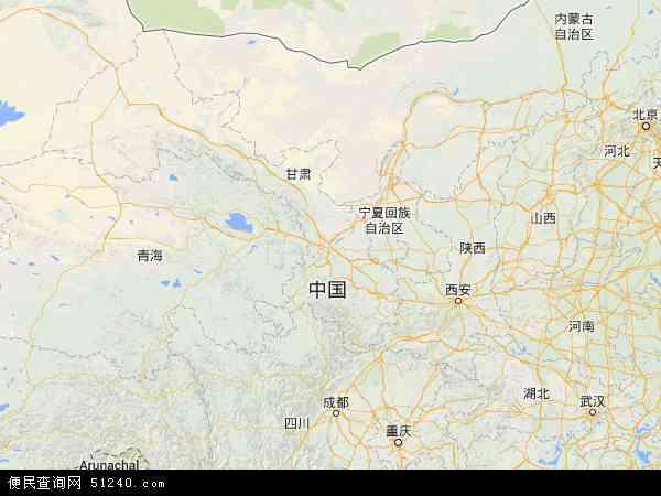 甘肃省地图 甘肃省卫星地图 甘肃省高清航拍地图 甘肃省高清卫星地图