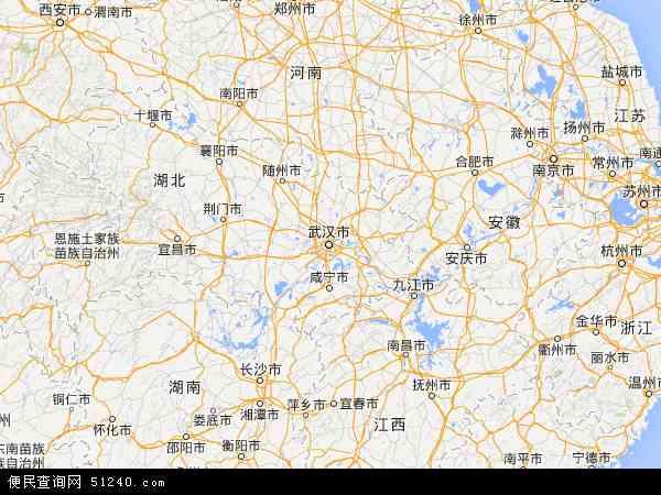 中国地图湖北恩施_湖北省地图 - 湖北省卫星地图 - 湖北省高清航拍地图