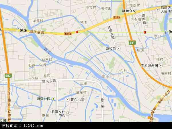 海龙地图 - 海龙卫星地图