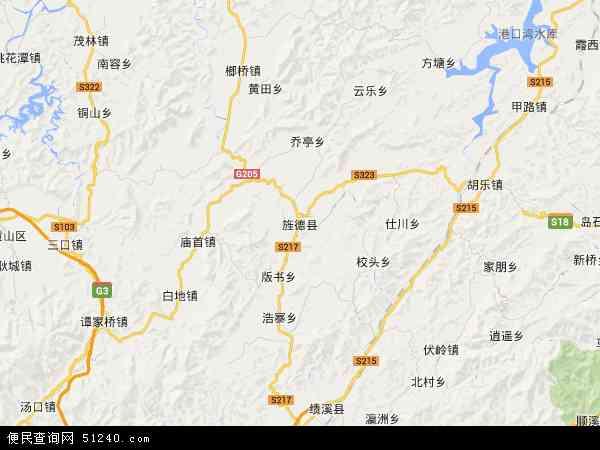 最新旌德县地图,2016旌德县地图高清版