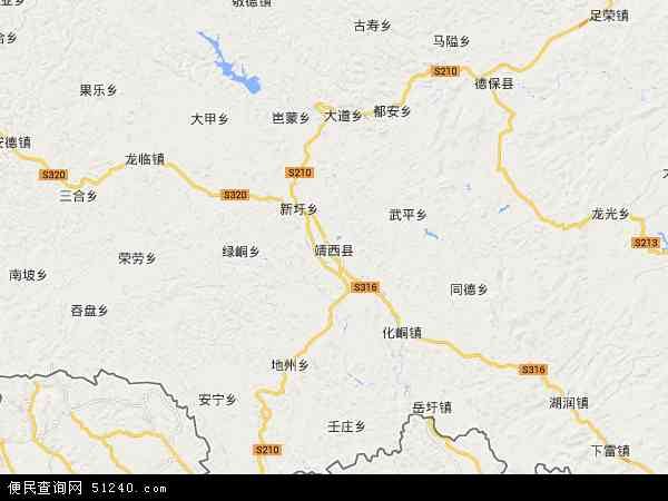 靖西县地图 - 靖西县电子地图 - 靖西县高清地图 - 2017年靖西县地图