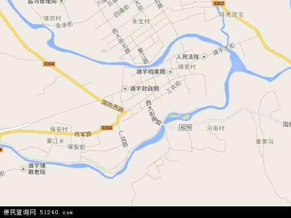 中国吉林省白山市靖宇县靖宇镇地图(卫星地图)