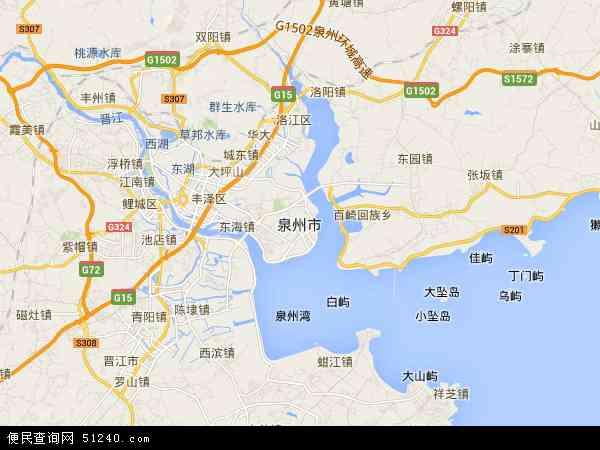 金门县地图 - 金门县卫星地图