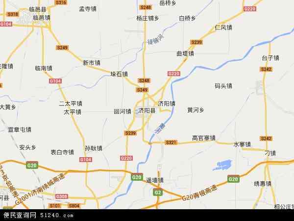济阳县地图 - 济阳县卫星地图