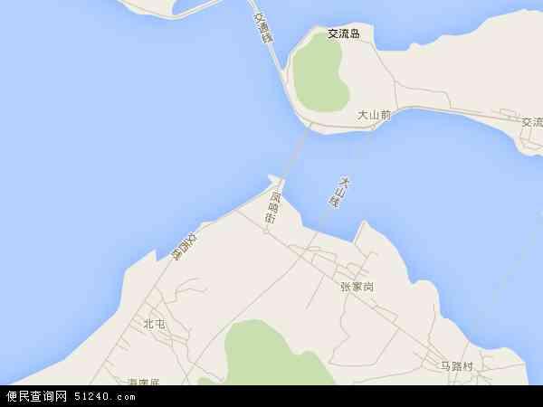 中国 辽宁省 大连市 瓦房店市 交流岛  交流岛卫星地图 本站收录有