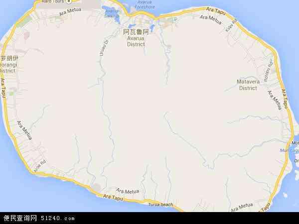 库克群岛地图 - 库克群岛电子地图 - 库克群岛高清地图 - 2016年库克群岛地图