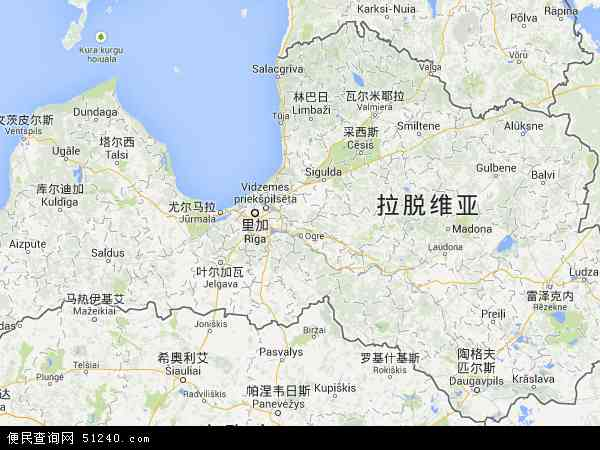 拉脱维亚地图 - 拉脱维亚电子地图 - 拉脱维亚高清地图 - 2016年拉脱维亚地图