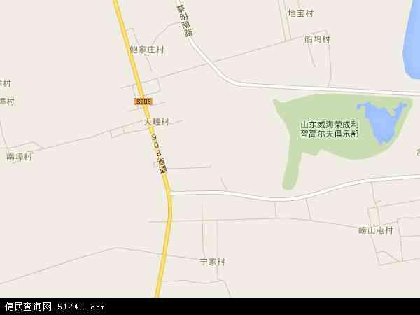 崂山地图 - 崂山卫星地图
