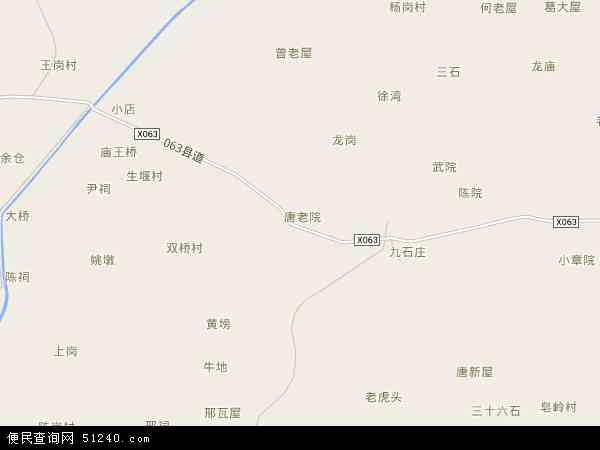 中国安徽省合肥市庐江县乐桥镇地图(卫星地图)