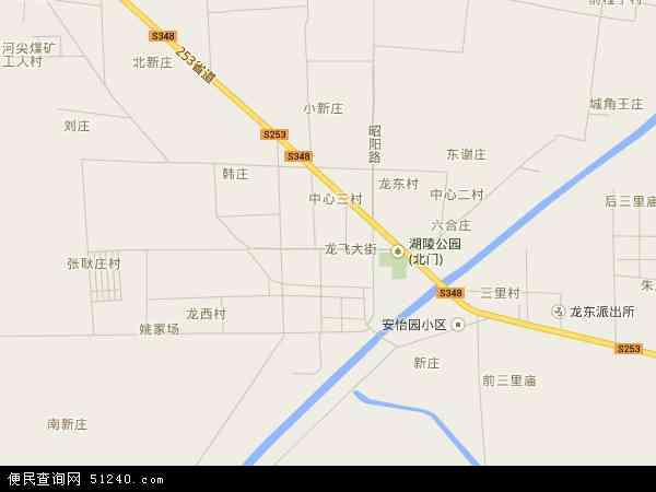 中国江苏省徐州市沛县龙固镇地图(卫星地图)