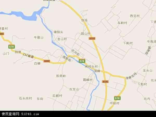马站镇地图 - 马站镇卫星地图