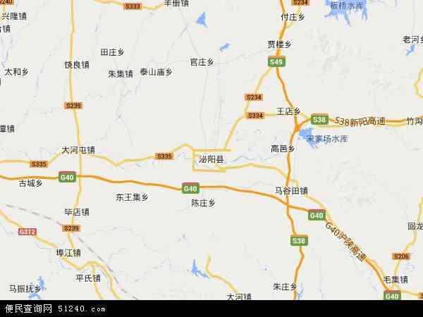 泌阳县地图 - 泌阳县卫星地图
