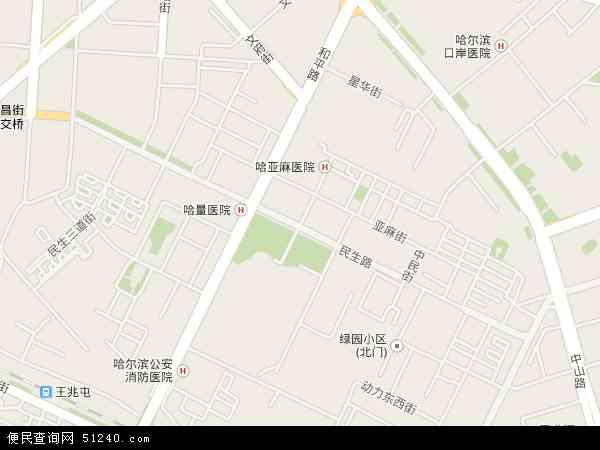 民生路地图 - 民生路电子地图 - 民生路高清地图 - 2016年民生路地图