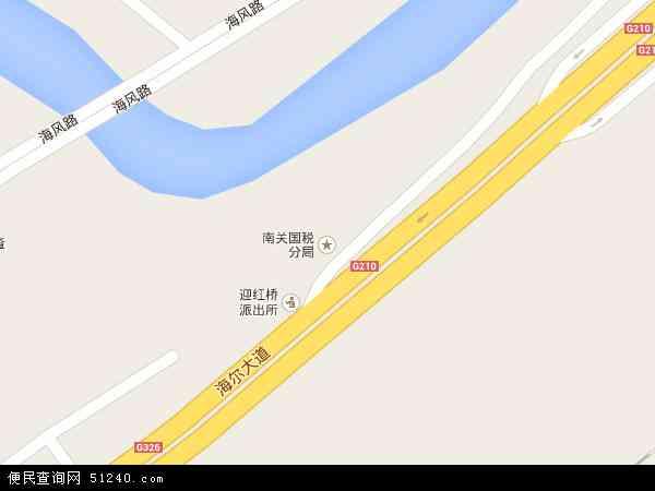中国贵州省遵义市红花岗区南门关地图(卫星地图)