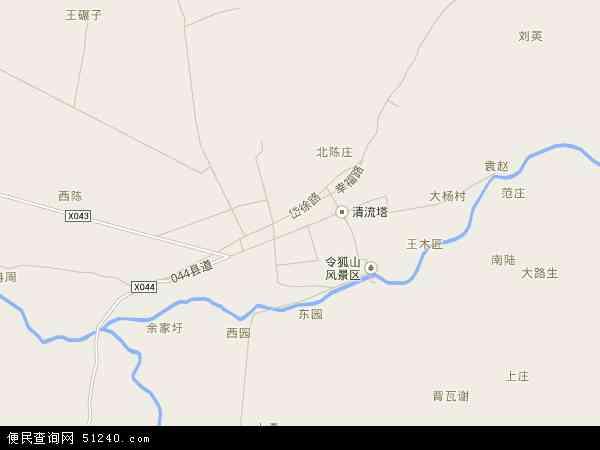 中国安徽省滁州市定远县藕塘镇地图(卫星地图)