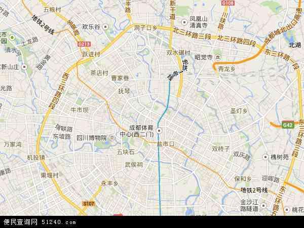 鹤山镇地图 - 鹤山镇卫星地图 - 鹤山镇高清航拍 青羊区地图 - 青羊