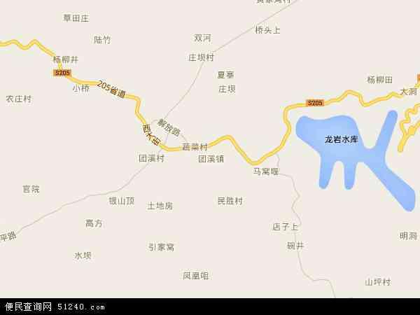 2015团溪镇卫星地图,团溪镇北斗卫星地图2016,部分地区可以实现高清20