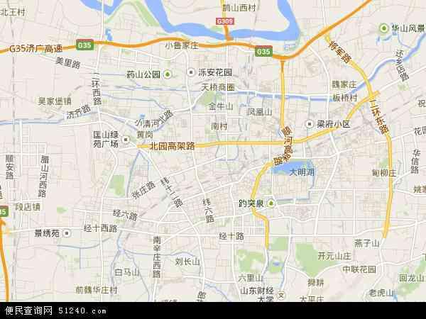 天桥区地图 - 天桥区卫星地图