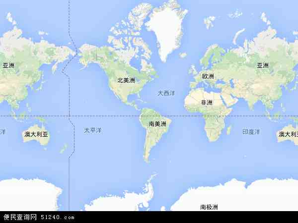 委内瑞拉地图(卫星地图)