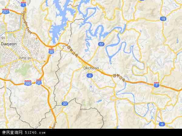 沃川郡地图- 沃川郡卫星地图- 沃...