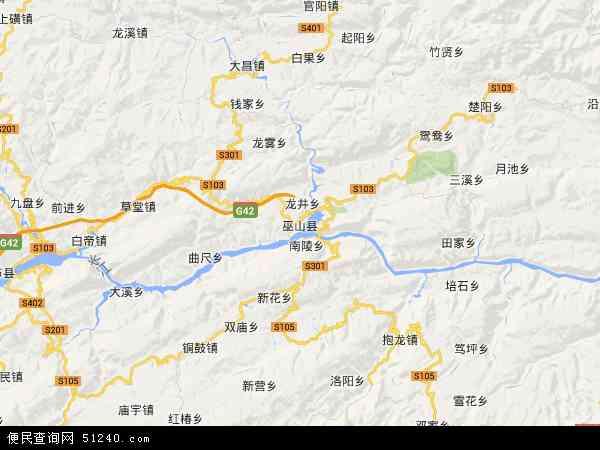 中国 重庆市 > 县 >  巫山县  本站收录有:2018巫山县卫星地图高清版