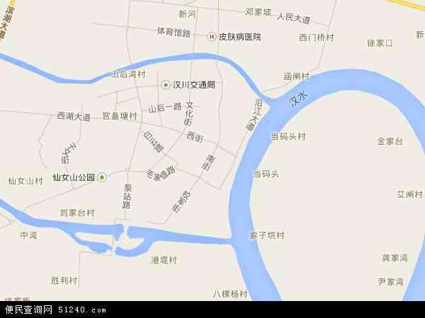 仙女山地图 - 仙女山卫星地图