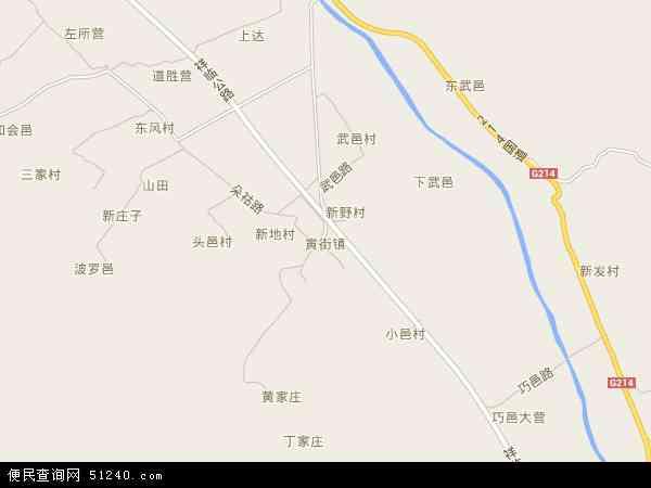 寅街镇地图 - 寅街镇卫星地图 - 寅街镇高清航拍地图