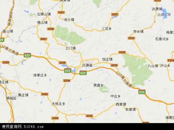 歷山風景區地圖