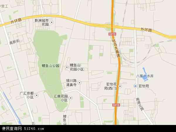 银川路地图 - 银川路卫星地图