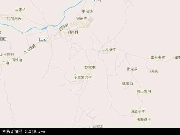 中国辽宁省葫芦岛市南票区赵家屯地图(卫星地图)