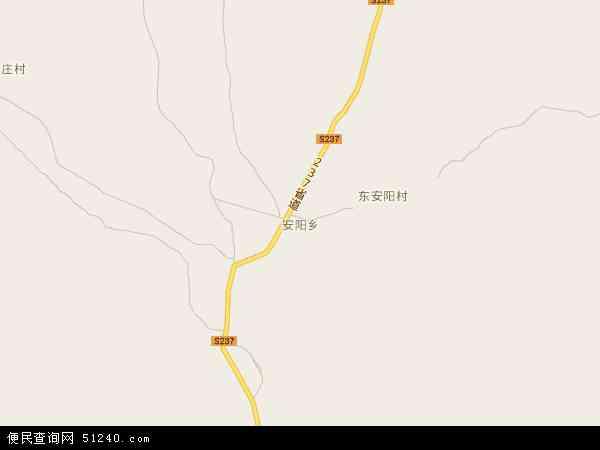 中国河北省保定市顺平县安阳乡地图(卫星地图)