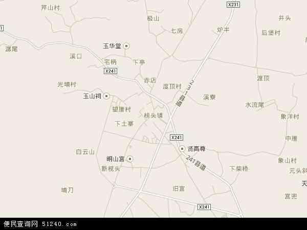 中国福建省莆田市仙游县榜头镇地图(卫星地图)