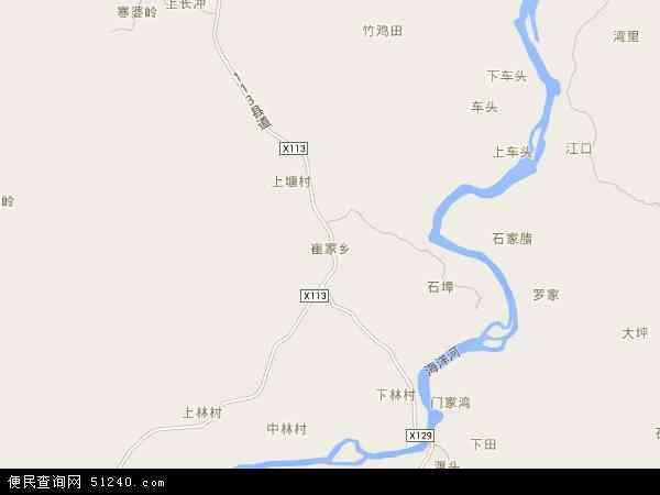 最新崔家乡地图,2016崔家乡地图高清版