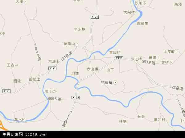 赤山镇地图 - 赤山镇卫星地图