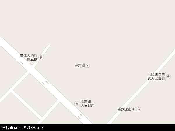 中国福建省泉州市惠安县崇武镇地图(卫星地图)