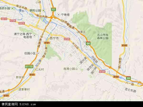 城东区高清卫星地图 城东区2017年卫星地图 中国青海省西宁市城东图片