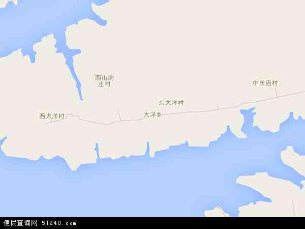 大洋乡地图 - 大洋乡电子地图