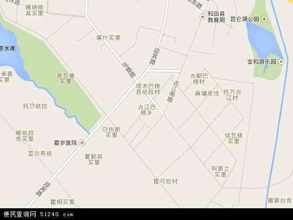 古江巴格卫星地图的中小学生舞蹈图片
