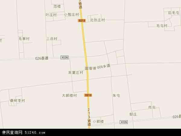 固墙镇地图 - 固墙镇电子地图 - 固墙镇高清地图 - 2017年固墙镇地图