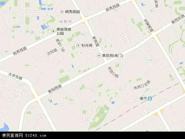 衡阳高清卫星地图 衡阳2017年卫星地图 中国广西壮族自治区南宁市