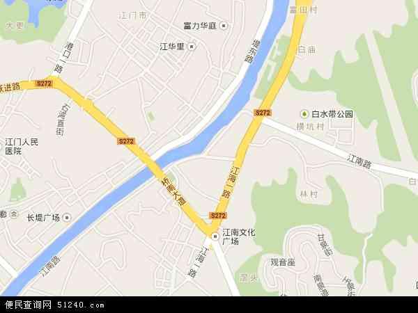 江南地图 - 江南卫星地图
