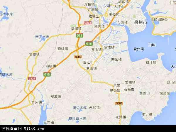 晋江市地图- 晋江市卫星地图- 晋...