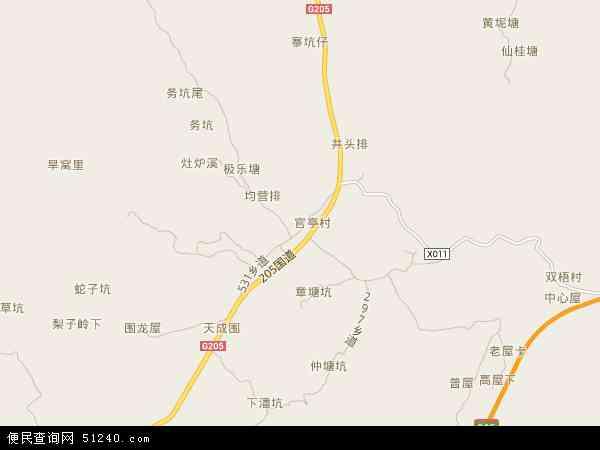 径南镇地图 - 径南镇电子地图