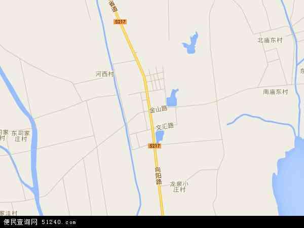 中国山东省青岛市平度市旧店镇地图(卫星地图)