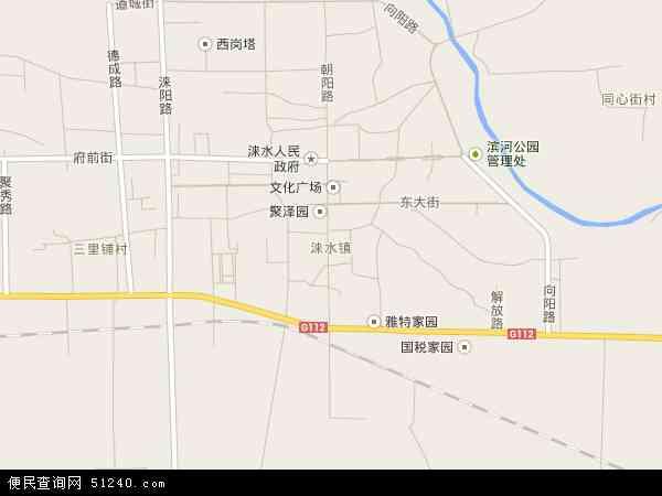 2016涞水镇卫星地图,涞水镇北斗卫星地图2017,部分地区可以实现高清20
