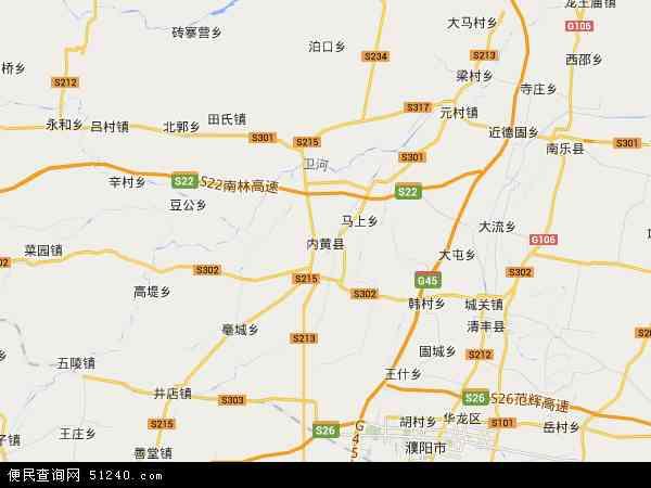 最新内黄县地图,2016内黄县地图高清版