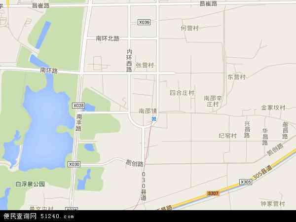 南邵镇地图 - 南邵镇电子地图